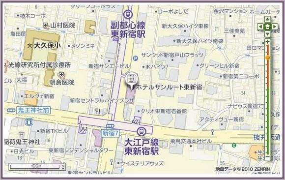 1-Hotel Sunroute Higashi Shinjuku_2