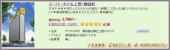 3-Super Hotel Ueno Okachimachi_1