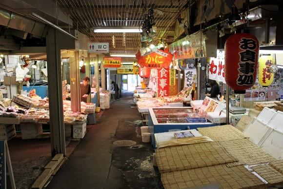 小樽三角市场2