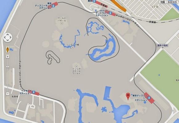 Tokyo DisneySea Hotel MiraCosta Map