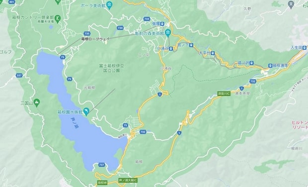 箱根溫泉旅館推介