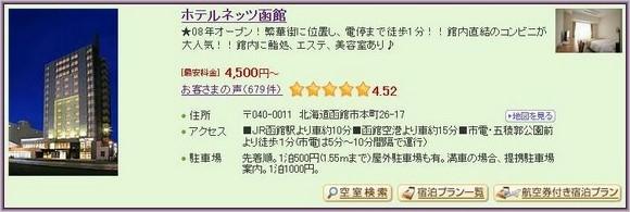 6-Hotel Nets Hakodate_1