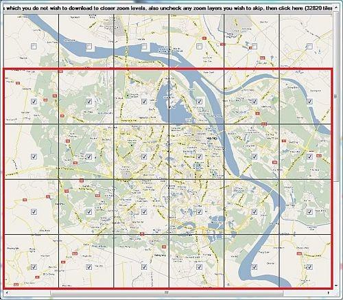 越南河内离线地图