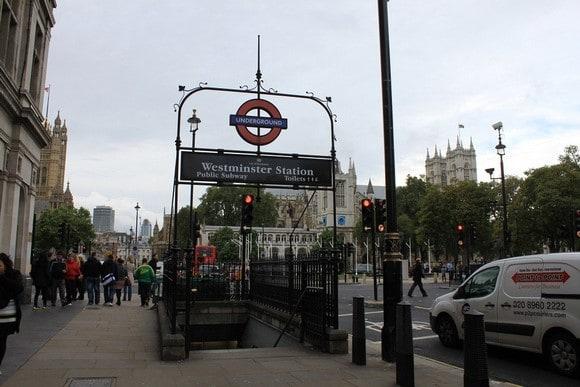 倫敦地鐵站