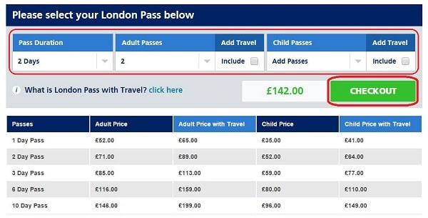 London Pass Purchase Process_02