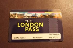 London Pass正面