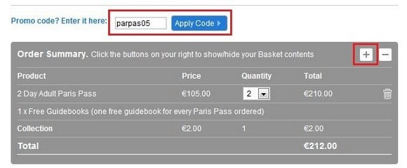 購買Paris Pass_Step 4_4