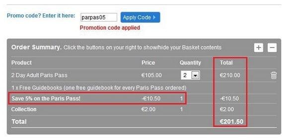 購買Paris Pass_Step 4_5