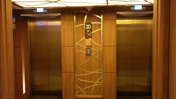 The Continent Hotel Bangkok_電梯1