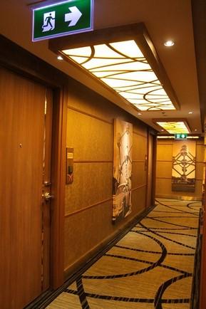 The Continent Hotel Bangkok_走廊2
