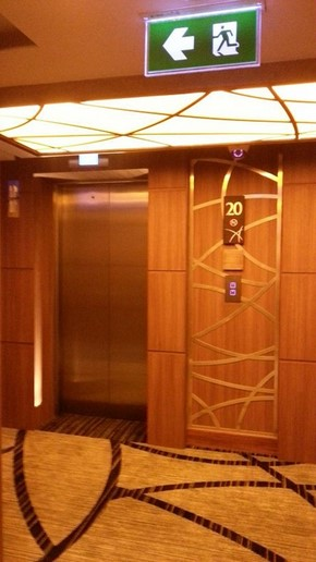 The Continent Hotel Bangkok_電梯2