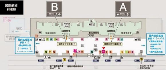 成田機場第二客運大樓本館地下1F