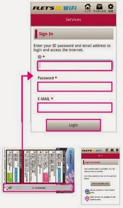 NTT東日本免費WiFi上網卡上網步驟6