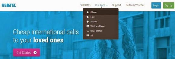 下載Rebtel Apps