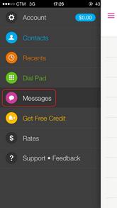 傳送SMS到不在Contact List上的電話號碼_01