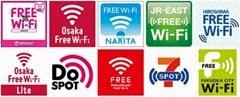 Japan Connected-free Wi-Fi合作網絡