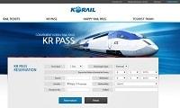 韓國外國人專用火車通行證KR Pass