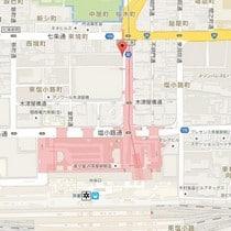 Daiwa Roynet Hotel Kyoto Ekimae_Map