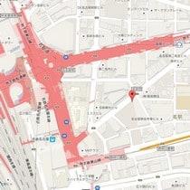 Mitsui Garden Hotel Nagoya Premier_Map