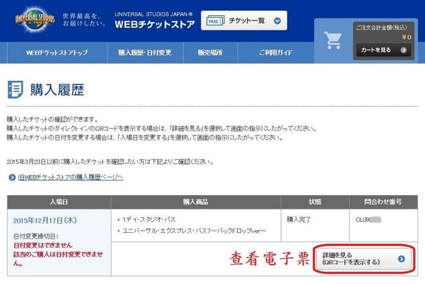 Puchase Ticket in USJ Website_49
