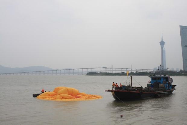 Yellow Duck at Macau_12