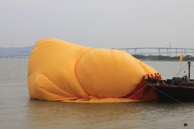 Yellow Duck at Macau_15