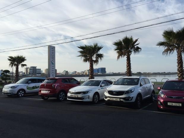 濟州城山阿魯哈酒店Car Park