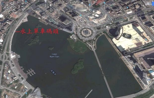 Macau Nam Van Lake_Map