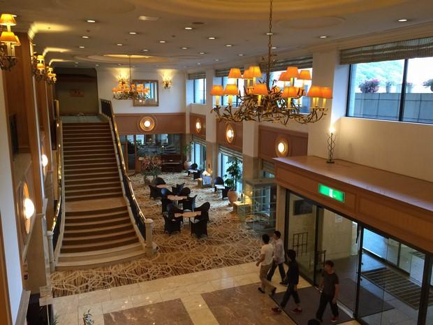 登別Grand Hotel大堂