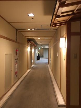 登別格蘭酒店走廊