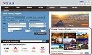 簡單一Click查看哪些日子出發的機票較便宜