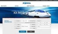 韓國外國人專用火車通行證KR Pass – 網上購票與換票教學